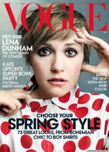 Vogue cover, February 2014
