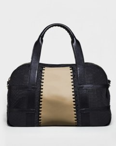 Francesca Taupe satchel