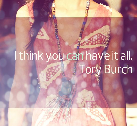 Tory Burch Tuesday at MBFW