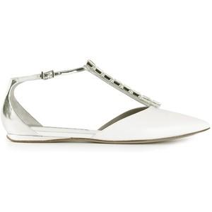 Baldan Ankle Strap Ballerinas
