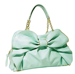 Betsey Johnson Bow Dacious satchel