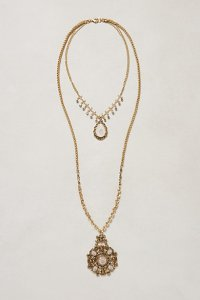 bloomsbury layered necklace