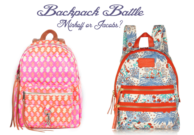 Backpack Battle! Rebecca Minkoff or Marc Jacobs?