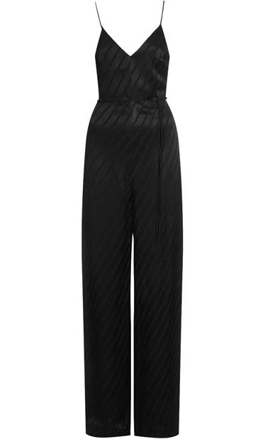 Shadow Strip Print jumpsuit