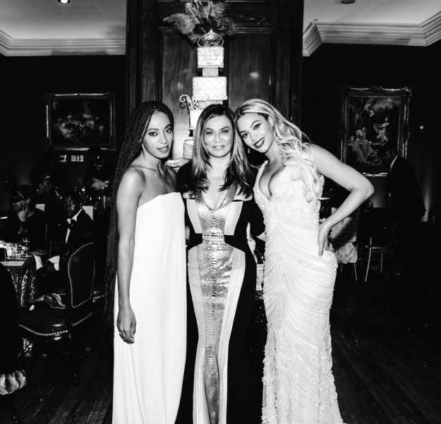Beyonce, Solange and Tina Knowles