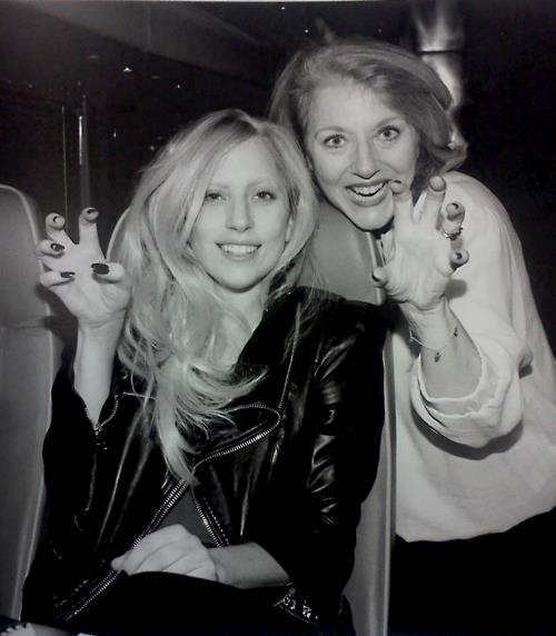 lady gaga and Cynthia Germanotta