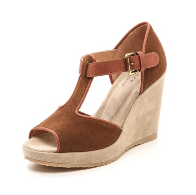 A.P.C. Open toe wedge