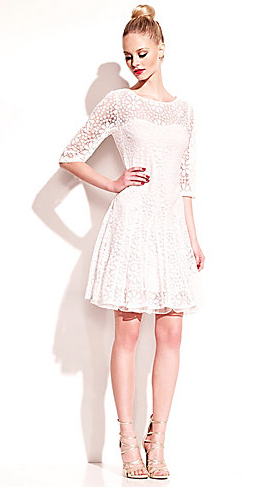 Betsey Johnson Daisy Lace