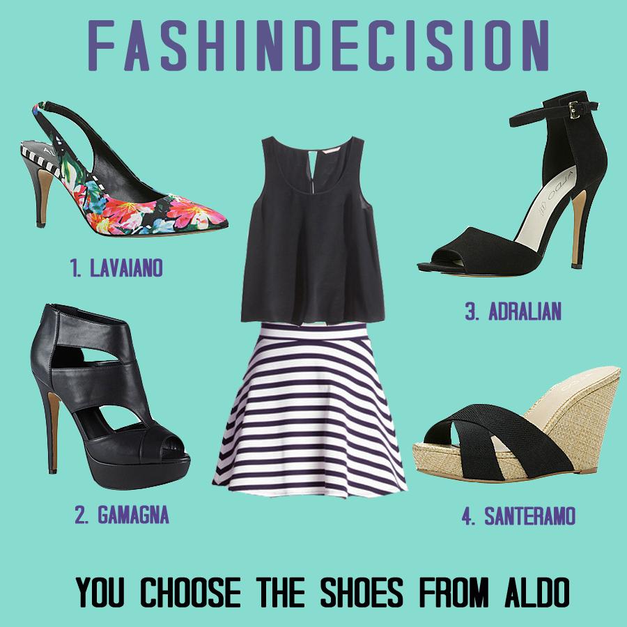 fashindecision Choose the Shoes