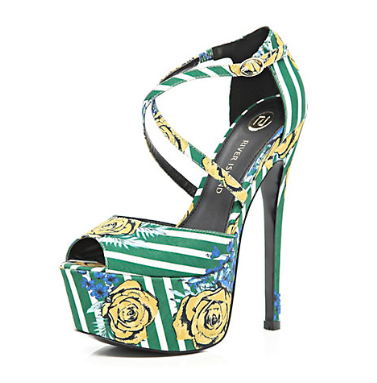 River Island Green Floral