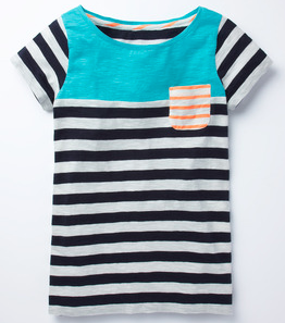 Stripy Colourblock tee