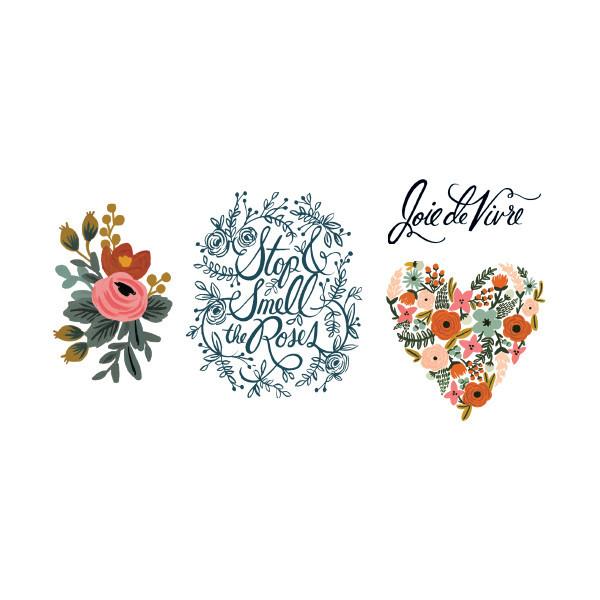 Tattly Floral Set