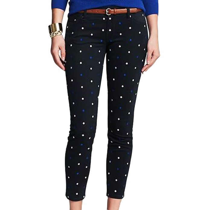 Banana Republic Dot skinny jean