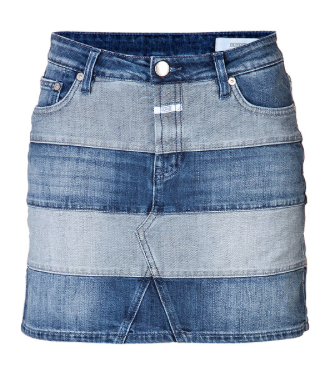Closed jean skirt