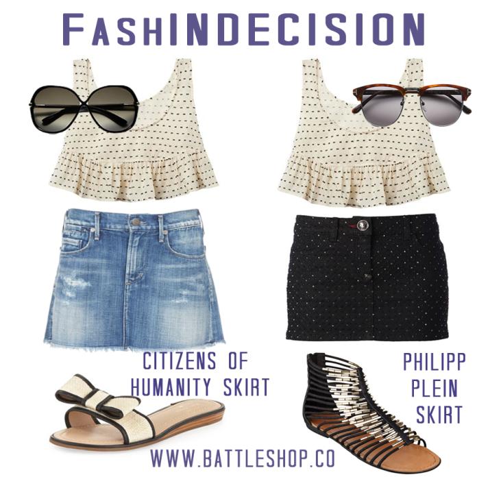fashindecision jean skirts