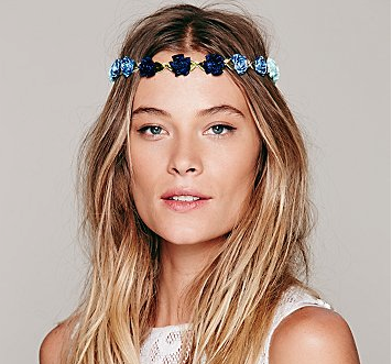 Free People floral braid-ins