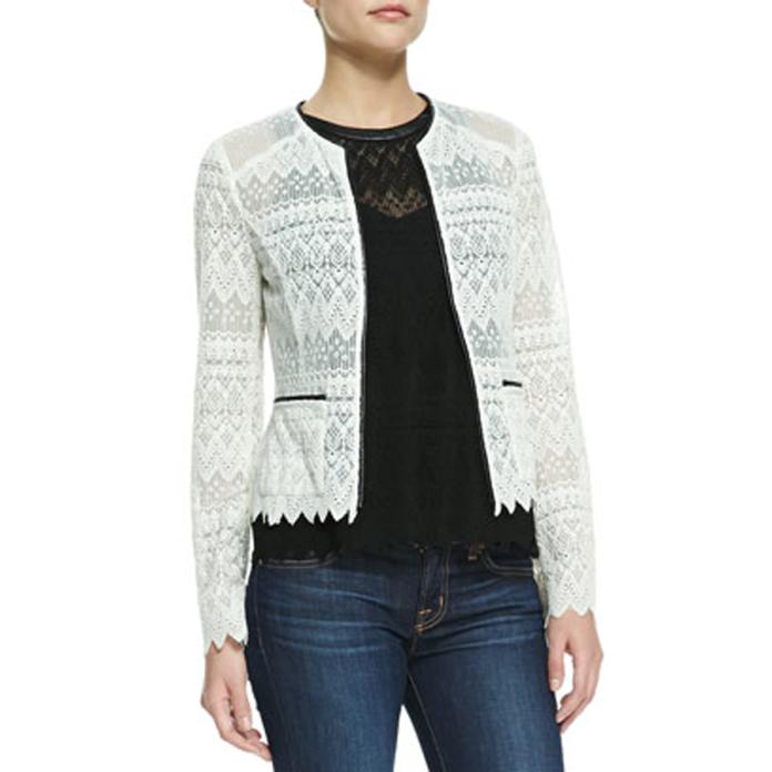 Nanette Lepore lace jacket