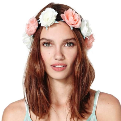 NastyGal Heads Up rose crown