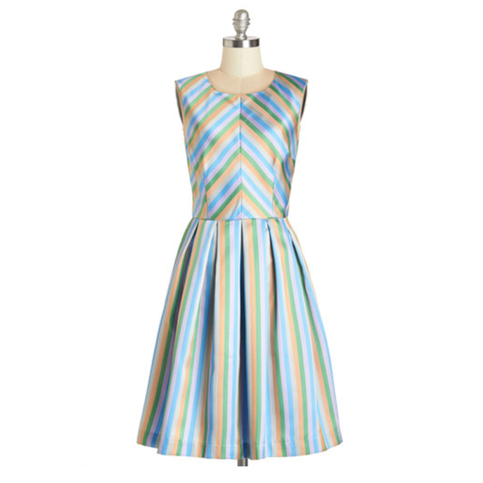 Radiant Ribbons dress