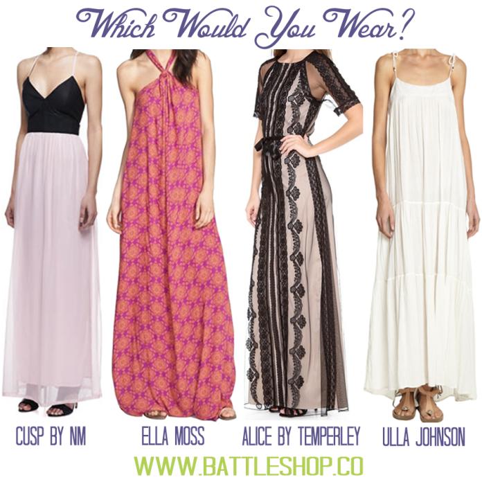 WWYW Maxi Dresses