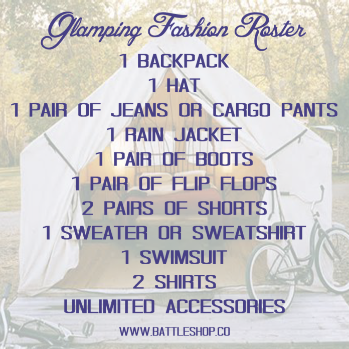 Glamping Fasion Roster