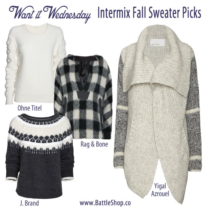 Fall Sweater Picks