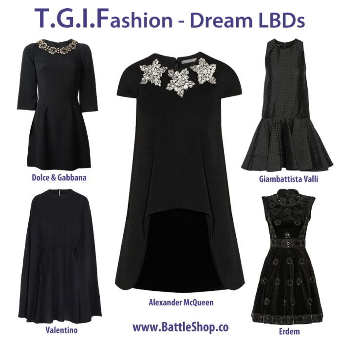 TGIFashion dream lbds