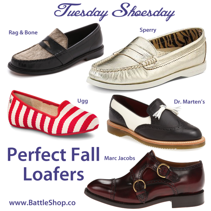 Tuesday Shoesday - Fall Loafers