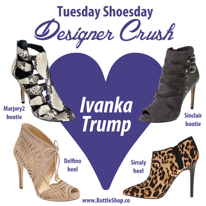 Ivanka Trump designer crush