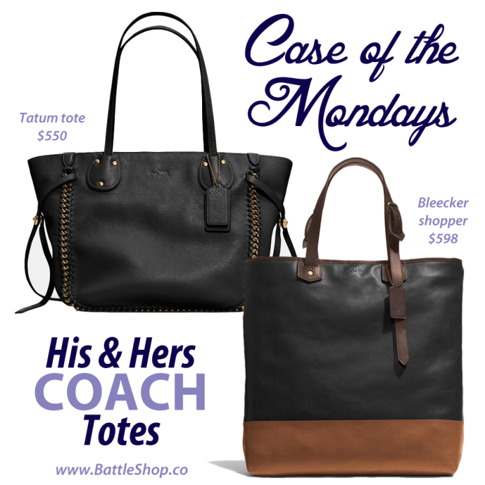 his & hers totes