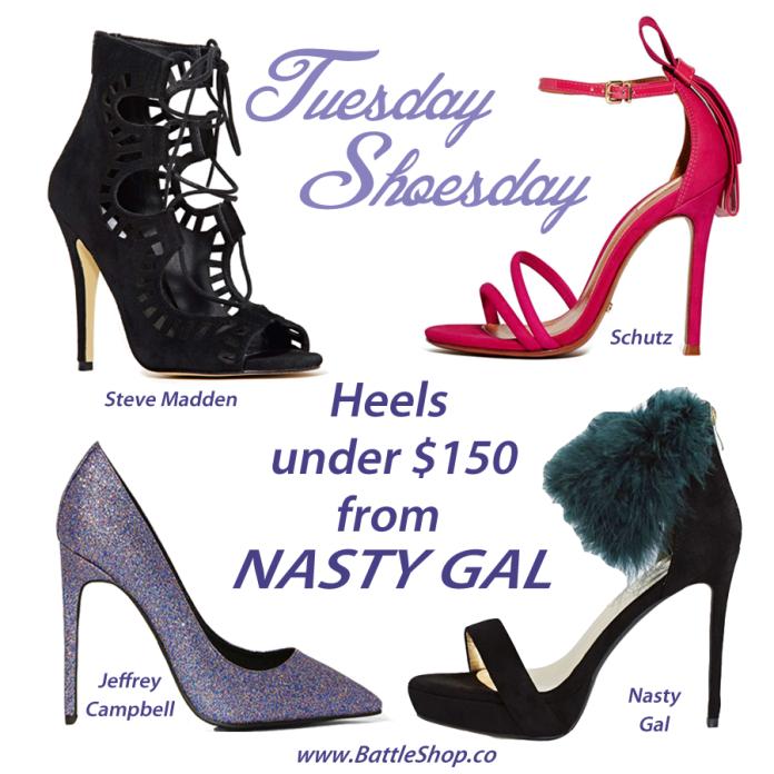 Nasty Gal heels