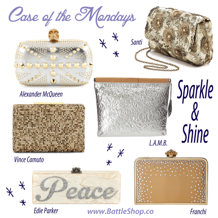 sparkle & shine clutches