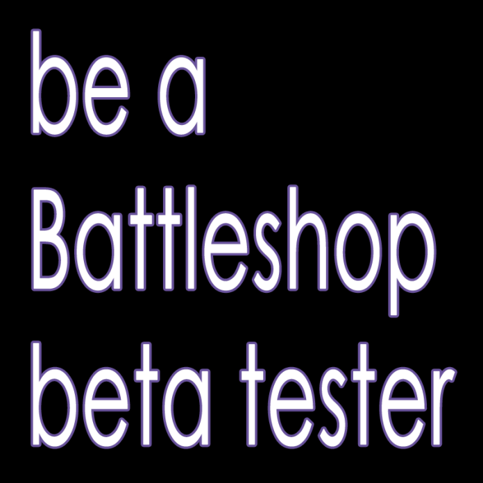 BE A BETA TESTER